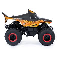 100 Monster Jam Rc Truck Spin Master Official Fire Ice Megalodon