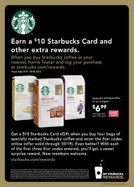 Earn A $10 Starbucks Card Wyb 4 Starbucks Coffee At Harris ... Tim Hortons Coupon Code Aventura Clothing Coupons Free Starbucks Coffee At The Barnes Noble Cafe Living Gift Card 2019 Free 50 Coupon Code Voucher Working In Easy 10 For Software Review Tested Works Codes 2018 Bulldog Kia Heres Off Your Fave Food Drinks From Grab Sg Stuarts Ldon Discount Pc Plus Points Promo Airasia Promo Extra 20 Off Hit E Cigs Racing Planet Fake Coupons Black Customers Are Circulating How To Get Discounts Starbucks Best Whosale