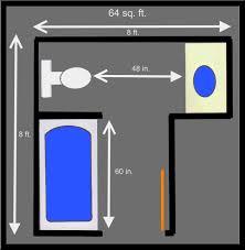 Small Master Bathroom Layout by 5x8 Bathroom Floor Plans Http Www Smallbathrooms Club 5x8