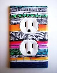 Wall Socket DIY Room Decor