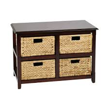 Sterilite 4 Drawer Cabinet 2 Pack by Sterlite 4 Drawer Chest Of Drawers