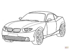 Bmw X Car Coupe Coloring Page