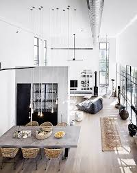 100 Loft Interior Design Ideas Casa Merging Interior Design Modern House