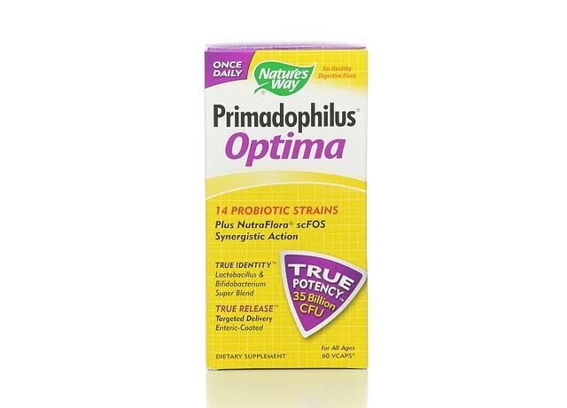 Nature's Way Primadophilus Optima - 60 Vcaps