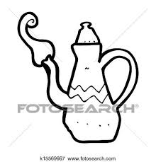 Stock Illustration Of Cartoon Coffee Pot K15569667