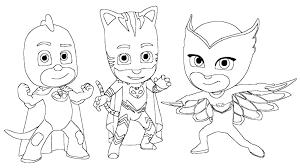 Download Catboy Coloring Pages Owlette Gekko And Page Cat Boy Webaliz Me Challenge Pj Masks