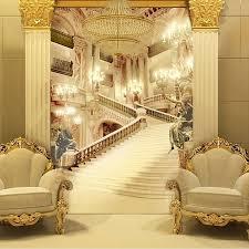3d wandbilder wohnzimmer eingang tapete hochzeit fotografie hintergrund wände malerei palast stairsl 3d tapete beibehang