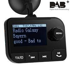 dab 006 متعددة الوظائف سيارة لاسلكية عدة شاشة الكريستال