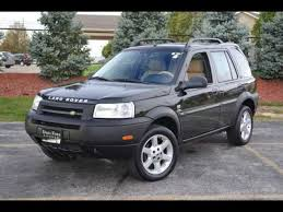 land rover freelander model range 2003 land rover freelander specs and photos strongauto