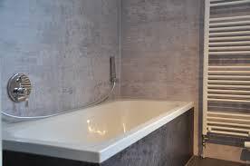badezimmer fugenlose wände statt fliesen wanddrucke