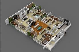 Spacious House Plans by Spacious 4 Bedroom Interior Design Ideas