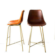 Julien Leather Bar Stool Your House I Have Been Literally Dying For