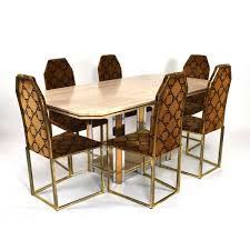 100 6 Chairs For Dining Room Vintage Travertine Table With Set For Sale At Pamono