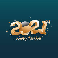 Items Where Year Is 2021 Golden 3d Happy New Year 2021 With Geometric Elements