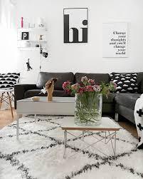 schwarz weiß dekorieren haus deko innenarchitektur