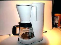 White Bunn Coffee Maker With Amazing Industrial Size