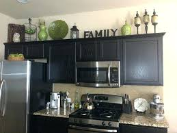 Decor Over Kitchen Cabinets Lovely Cabinet Top Of Cabinetdecor Best