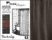 Sturbridge Curtains Park Designs Curtains by Park Designs Plaid Shower Curtains Ebay
