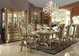 Dining Room Set With Hutch Table Traditional
