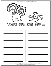Thanksgiving Church Coloring Pages