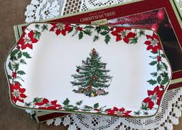 Spode Christmas Tree by I Shop Vintage Christmas In July
