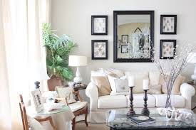 Pottery Barn Style Living Room Ideas by Decor Mirrors Living Room