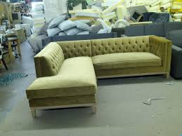 Diamond Tufted Sectional from The SofaWorks 2100 Irving Blvd