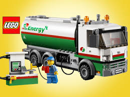 Lego City Tanker Truck 60016 Stop Motion Speed Build - Unboxing Demo ...