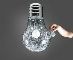 large big edison glass bulb led filament light ceiling chandelier