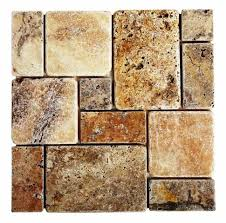 Scabos Travertine Floor Tile by Ukstone Marble Travertine Limestone Mosaics Tile Floor And