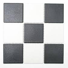 mosaikfliese keramik schachbrett schwarz weiß bad küche 22 0304 r10 f 10matten ebay