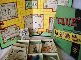Vintage Clue Game 1949 1950 Board Pieces Box 1950s Toys 2250 Via Etsy