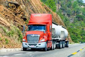 100 International Semi Truck GUERRERO MEXICO MAY 27 2017 Trailer