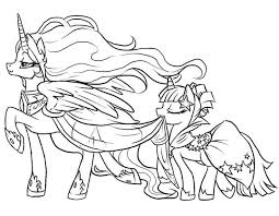 My Little Pony Coloring Pages To Print Mlp