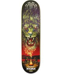 element nyjah huston smoke signals 8 0 skateboard deck zumiez