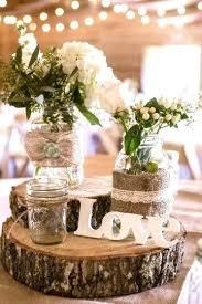 Rustic Decor For Sale Burlap Wedding Ideas Lace Centerpieces Used And Rusti
