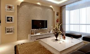 Living RoomFasinating Room Design With Black Leather Sofa Set And Led Tv Wall