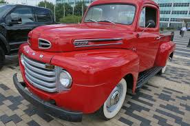 1950 Ford F-1 Truck Review: Rolling The OG F-Series - Motor Trend Canada 1951 Ford F1 Gateway Classic Cars 7499stl 1950s Truck S Auto Body Of Clarence Inc Fords Turns 65 Hemmings Daily Old Ford Trucks For Sale Lover Warren Pinterest 1956 Fart1 Ford And 1950 Pickup Youtube 1955 F100 Vs1950 Chevrolet Hot Rod Network Trucks Truckdowin Old Truck Stock Photo 162821780 Alamy Find The Week 1948 F68 Stepside Autotraderca