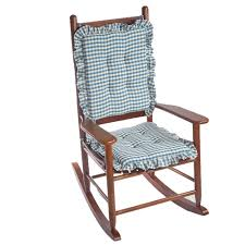 Null Gingham Ruffle Blue Rectangular Delightfill Rocking Chair Cushion Set Details About Rocking Chair Cushions Set Padded Jumbo Glider Rocker High Back Haulingbarj Greendale Home Fashions Wine Cherokee Cushion Gripper Polar Chenille Garnet Sets Outdoor For Nursery White Indoor And More Clearance Cheap Find Klear Vu Inoutdoor Pad Husk Birch Best 2018 Chairs Hyatt Fabric Denim Standard Pads And Seat Rockingchair