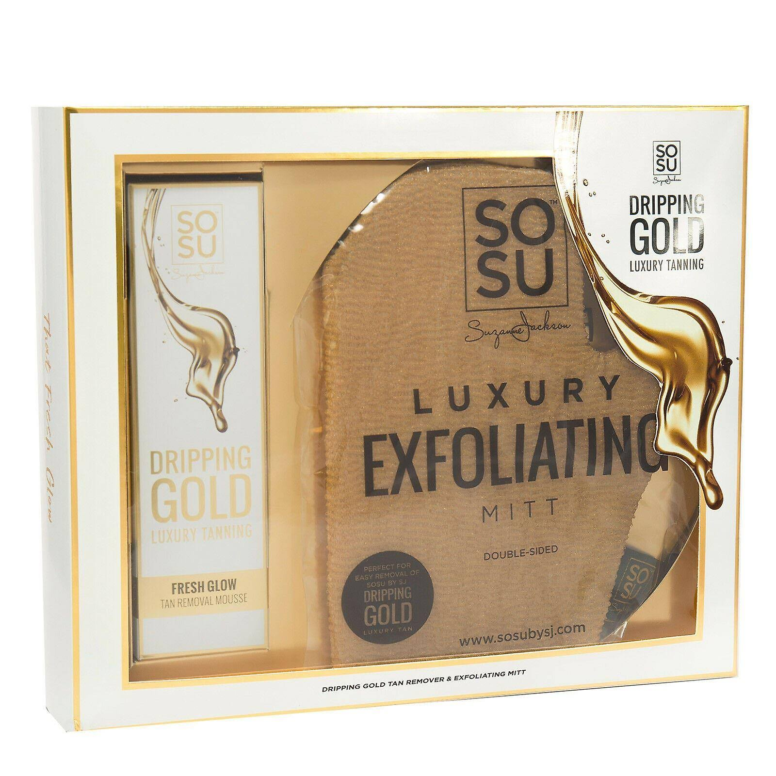 SOSU by Suzanne Jackson Dripping Gold Tan Removal Set 150ml