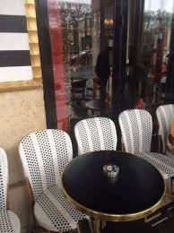 LImperial Outdoor Cafe Tables And Menu