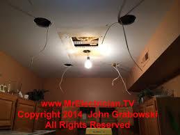 installing recessed lighting in a condominium kitchen