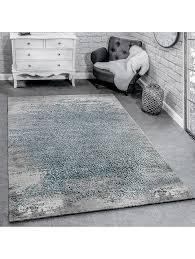 paco home designer teppich modern wohnzimmerteppich mit muster ornamente grau beige klingel