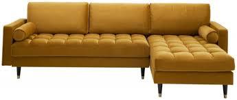 casa padrino samt ecksofa 260 x 155 x h 85 cm verschiedene farben wohnzimmer sofa mit kissen wohnzimmer möbel