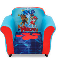 Mickey Mouse Potty Seat Walmart by Nick Jr Paw Patrol Plastic Frame Upholstered Chair Walmart Com