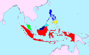 Unified Map Of Maritime Southeast Asia Location Dutch East Indies