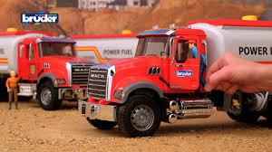 100 Toy Tanker Trucks Bruder S Mack Granite Truck 02827 YouTube
