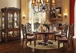 5th Avenue Furniture - MI Vendome Cherry Round 60
