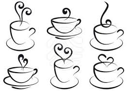 Coffee cup coffee and tea cups vector svgcuts tea cups cups cliparts