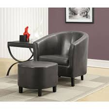 100 Accent Chairs With Arms And Ottoman Monarch Specialties Charcoal Grey Arm Chair With I 8054